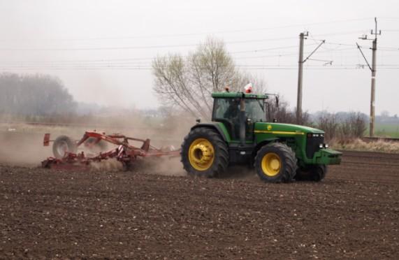 przedsiewna uprawa pola